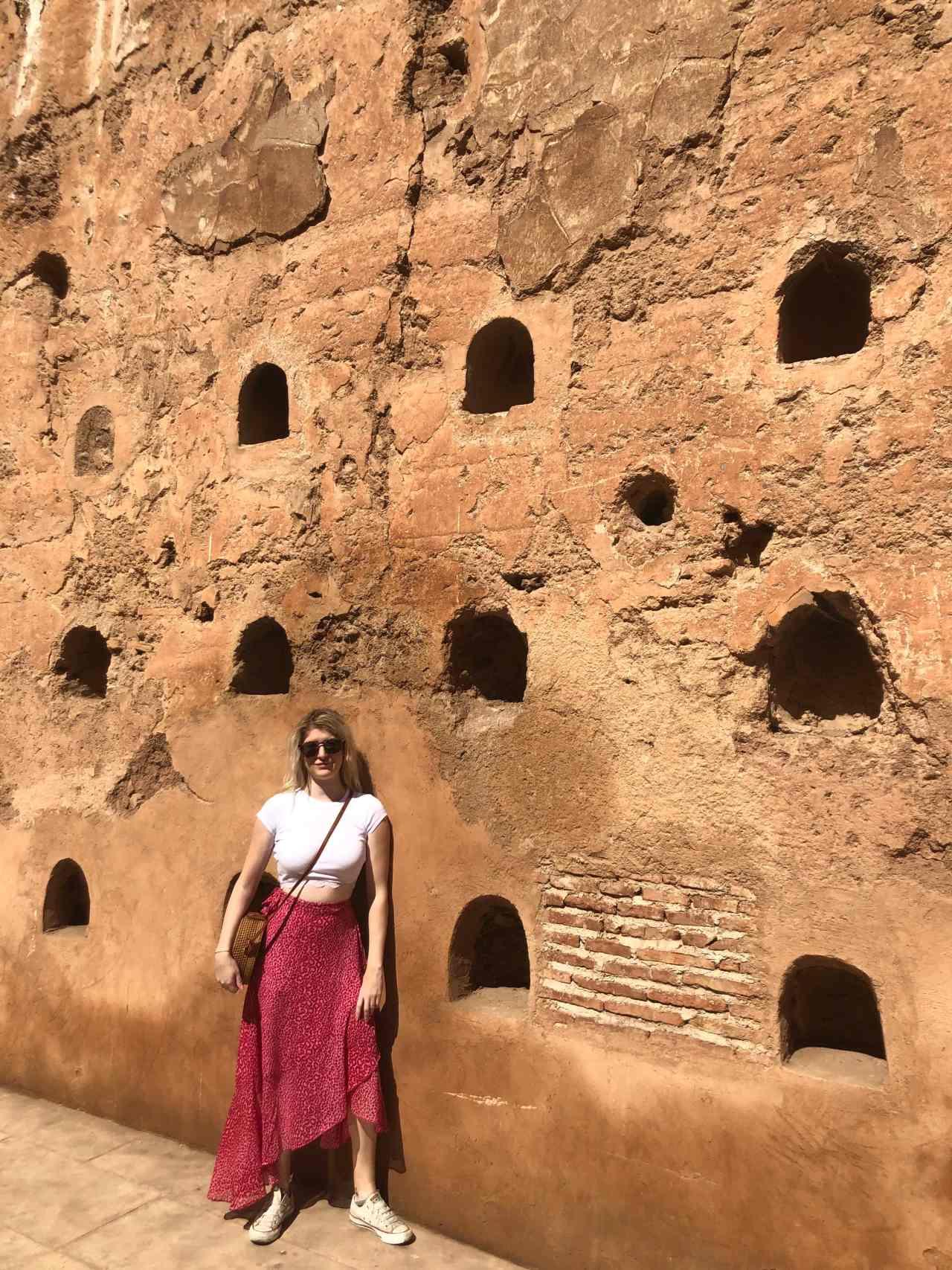 Walls of Palais el Badii