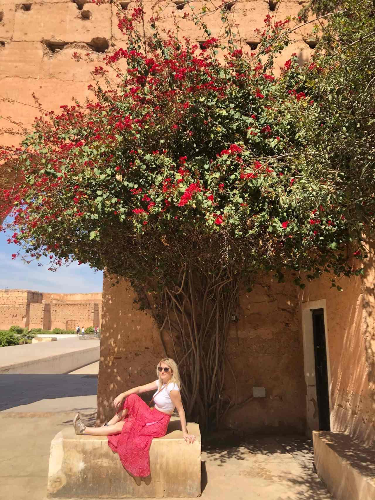 Instagram spots Palais El Badii Marrakech