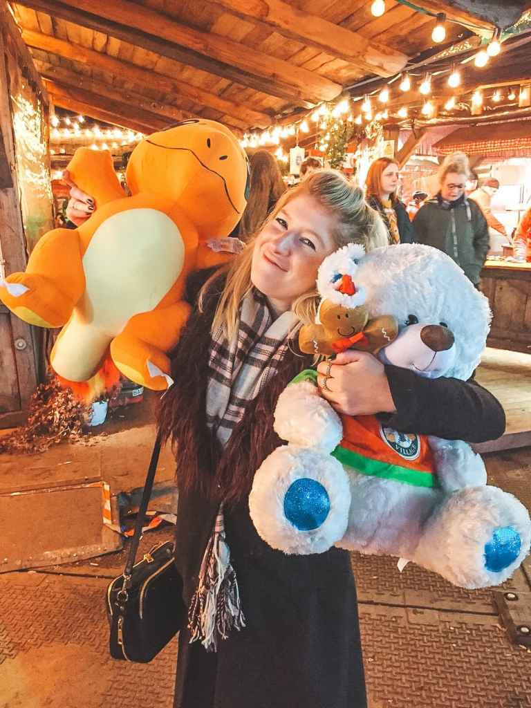 Winter Wonderland fairground prizes