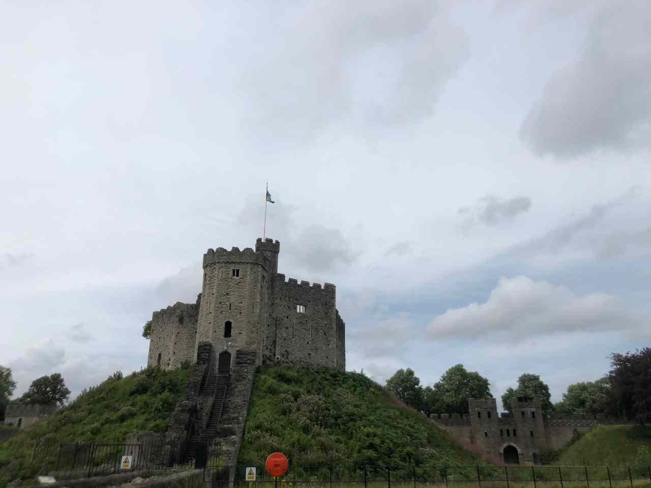 Norman Keep cardiff castle