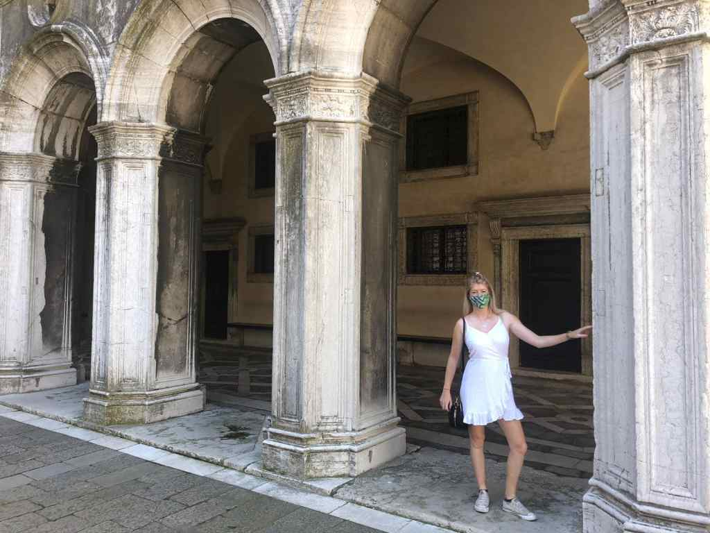 Doge's Palace Venice covid measures