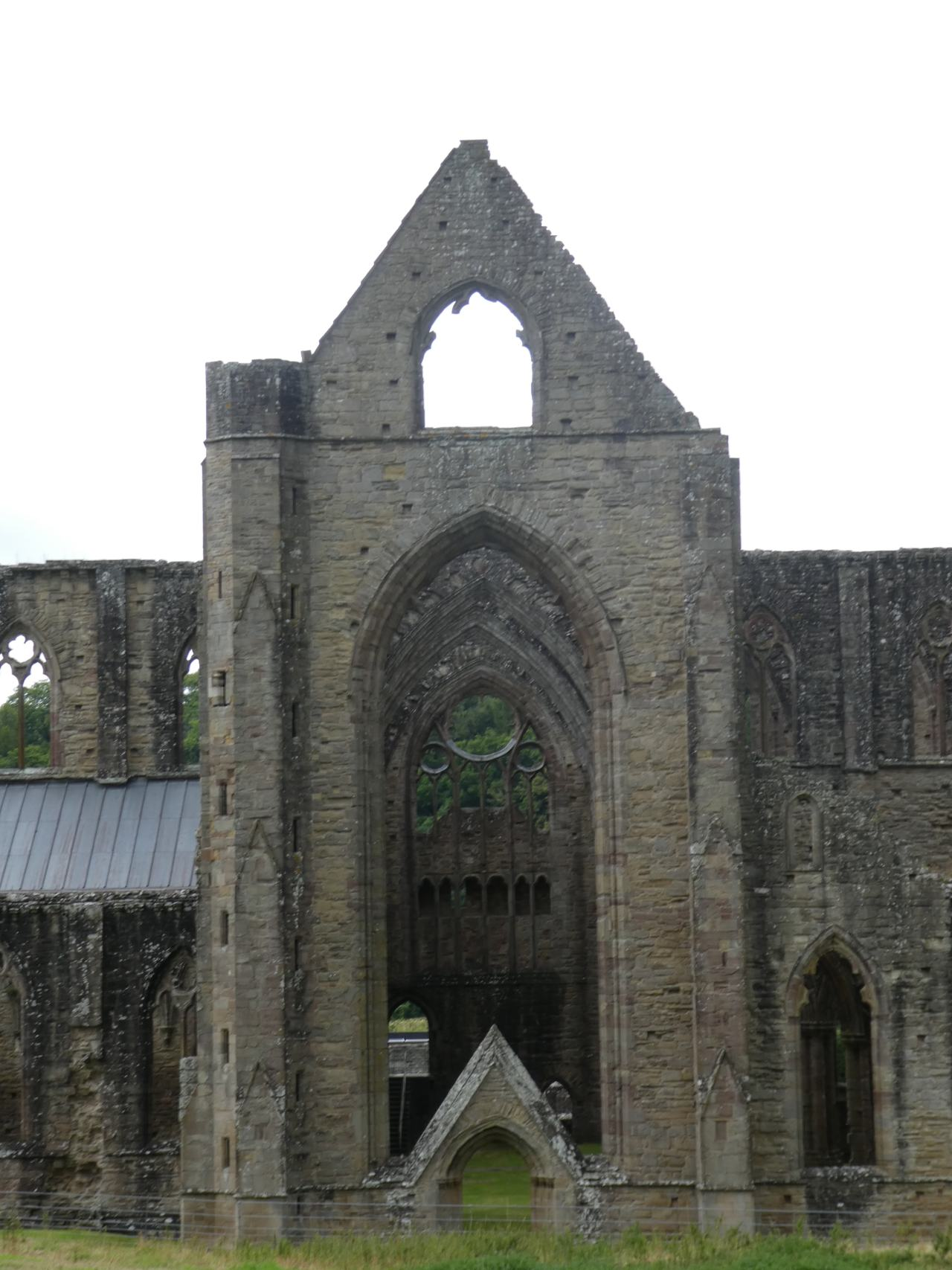 Tintern Abbey arches