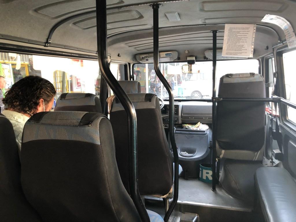 bus from Selçuk to Ephesus