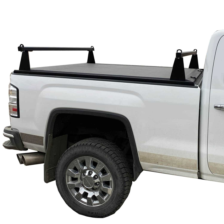 adarac m series black matte sport truck rack