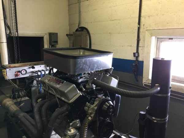 RHR Cool Air Box On Engine Dyno