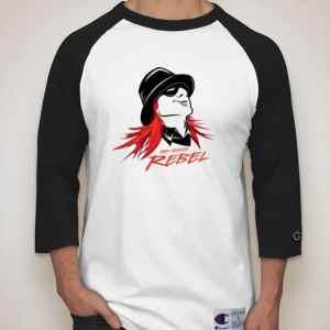Red Headed Rebel Baseball Shirt
