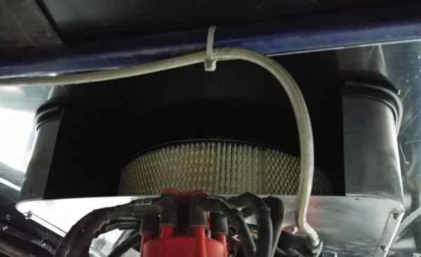 RHR Cool Air Box - 3 Sides Under Hood