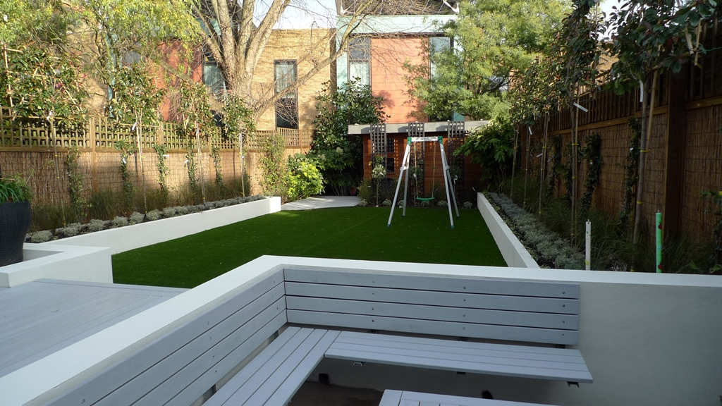 Formal Modern Back Garden Design Balham London London Garden Blog