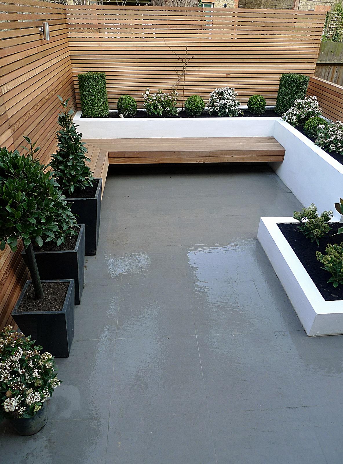 Garden design designer clapham balham battersea small low ... on Contemporary Backyard  id=50404