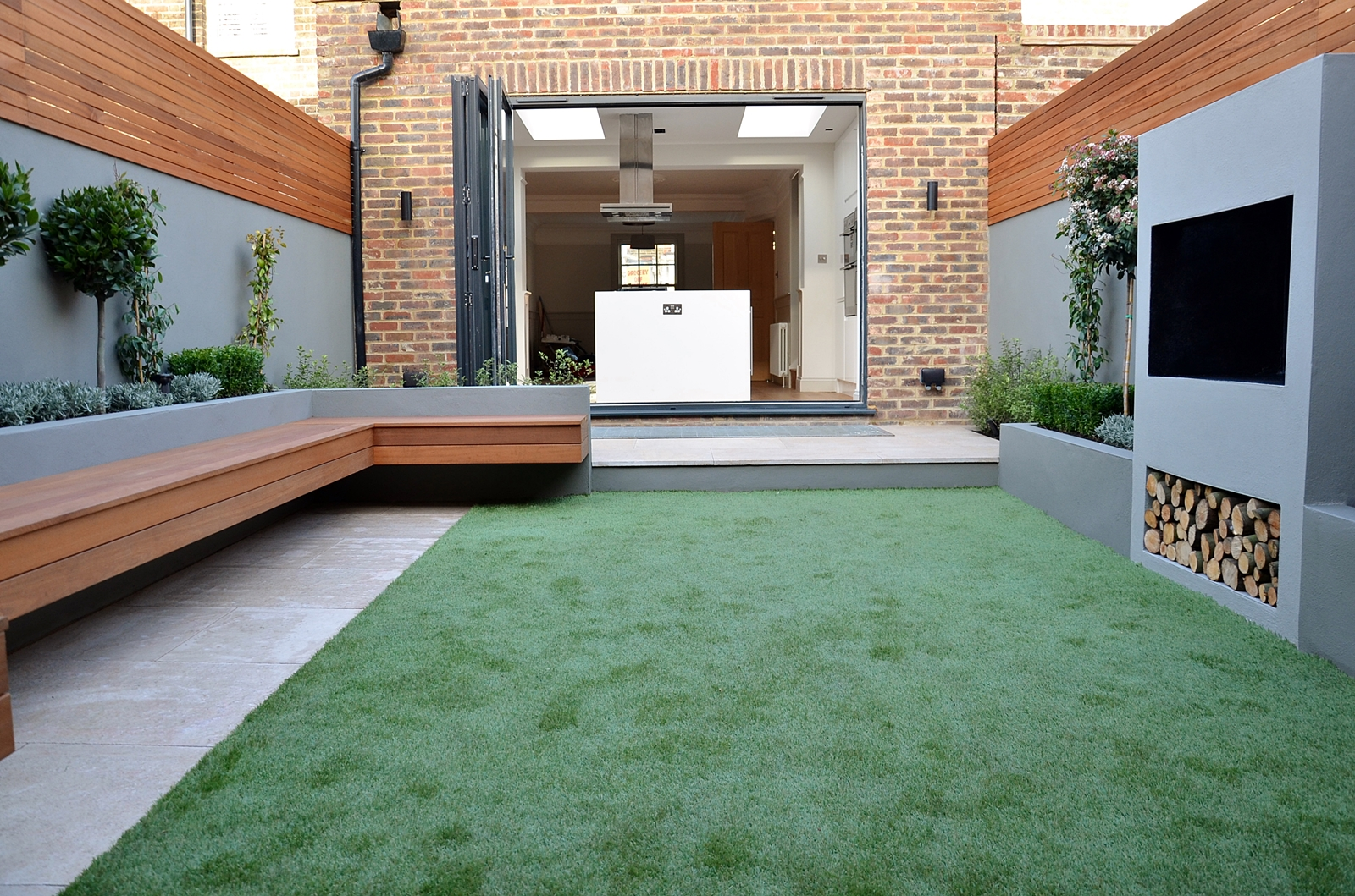 Modern Garden Design Landscapers Designers of Contemporary ... on Modern Landscaping Ideas For Small Backyards  id=41324