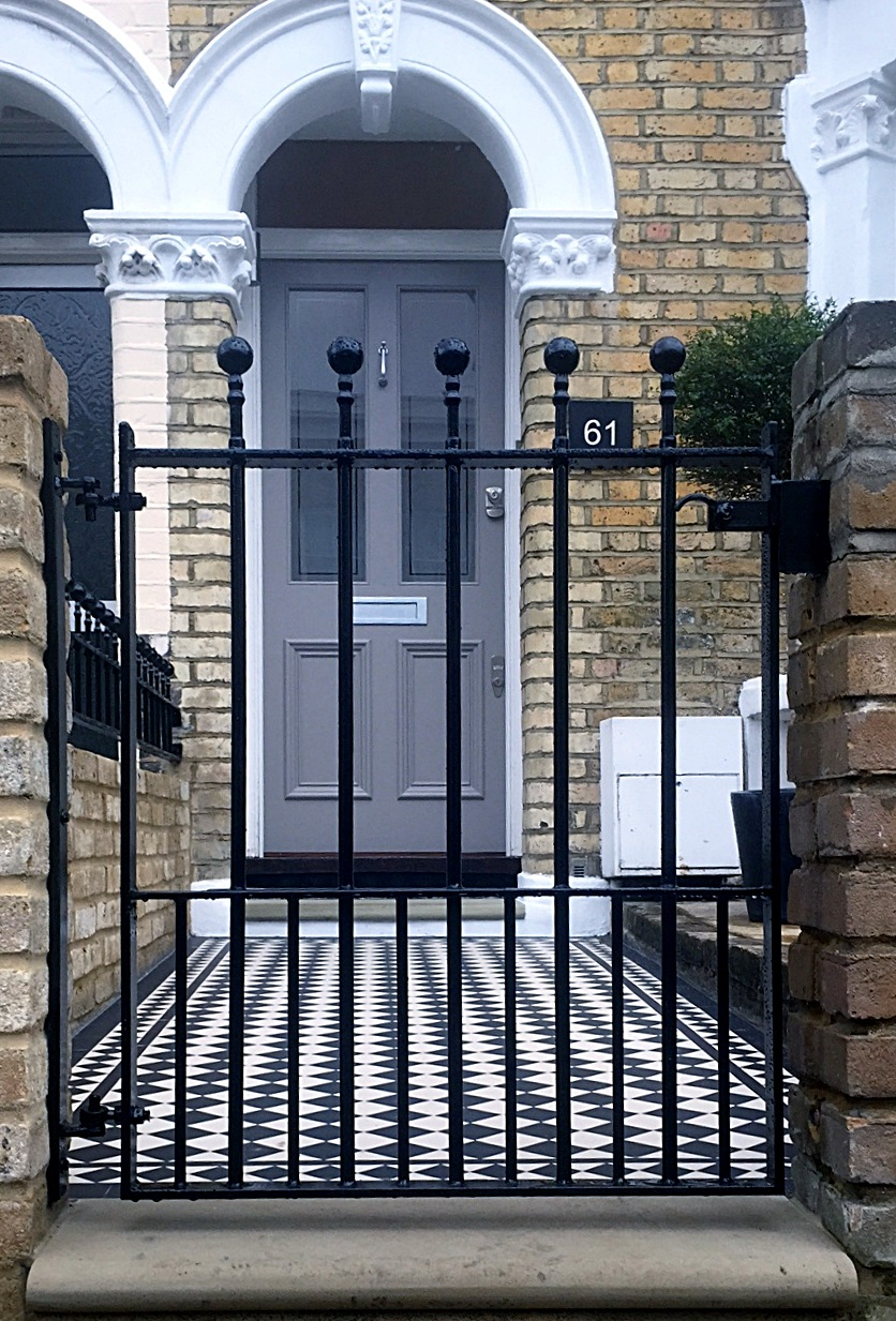 Victorian Mosaic Tile Path Amp Front Garden Design East