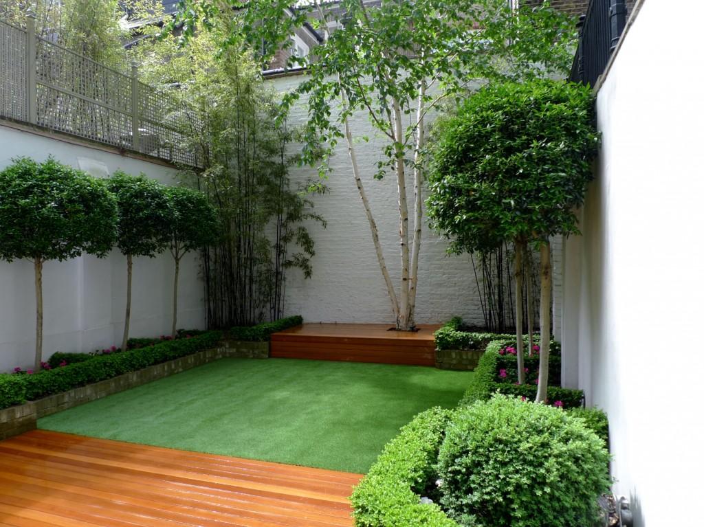 Chelsea Modern Garden Design London - London Garden Blog on Turf Backyard Ideas id=49851