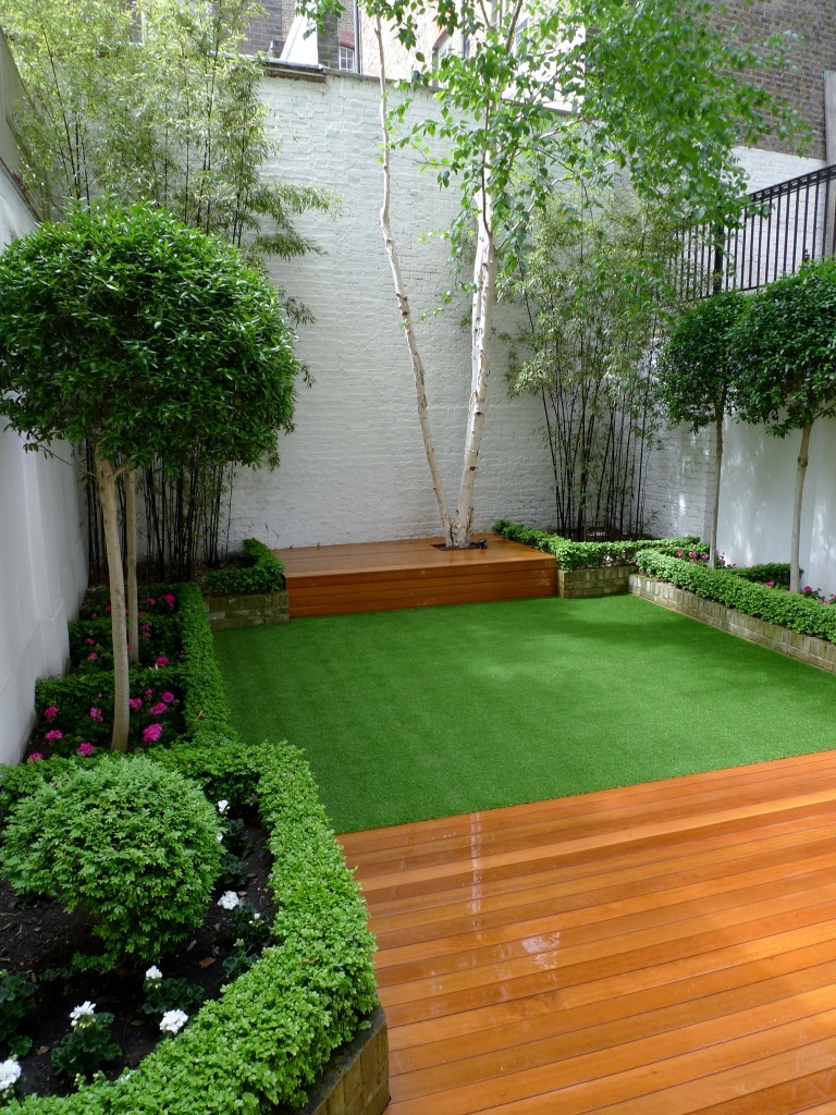 Chelsea Modern Garden Design London - London Garden Blog on Backyard Patio Layout id=57745
