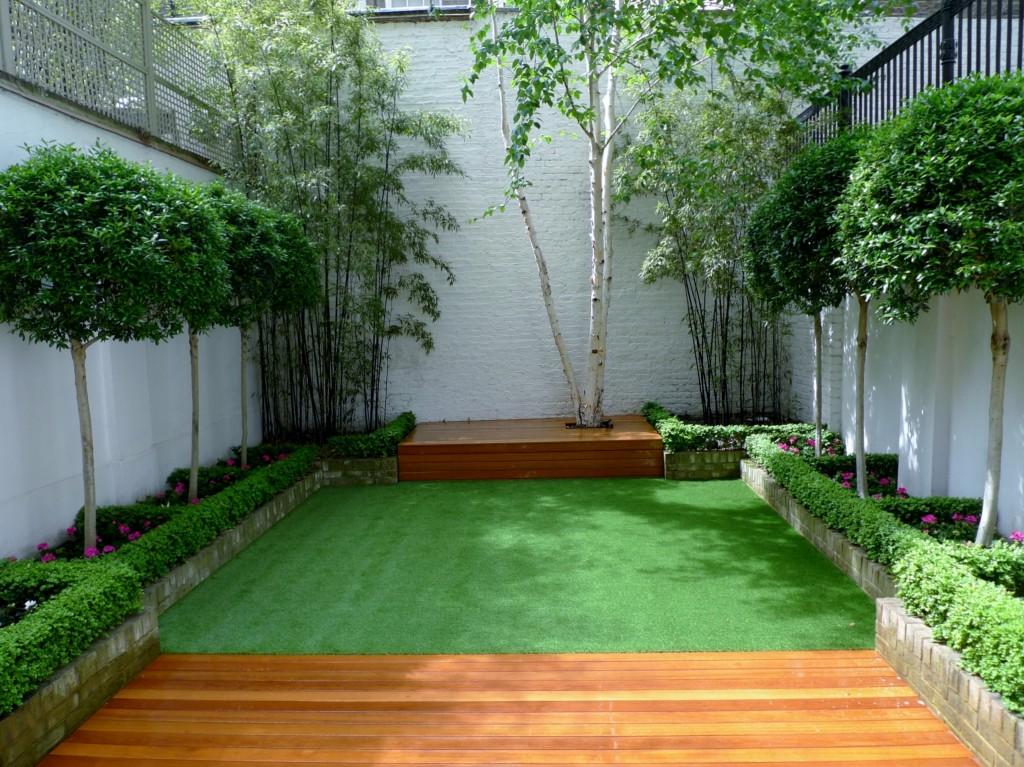 Chelsea Modern Garden Design London - London Garden Blog on Modern Small Backyard Ideas id=65111