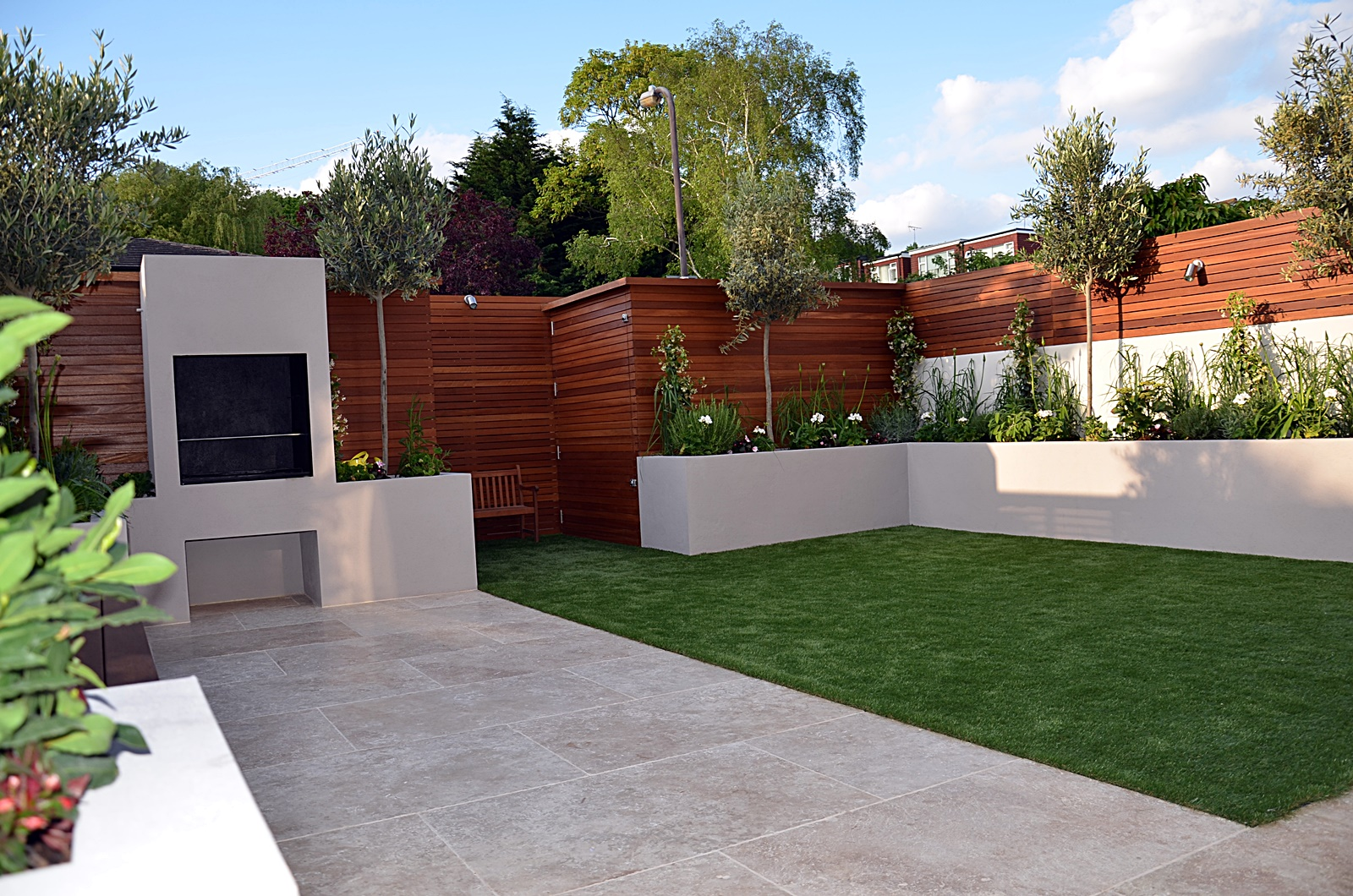 Modern garden design Fulham Chelsea Clapham Battersea ... on Modern Backyard Patio Ideas  id=31339