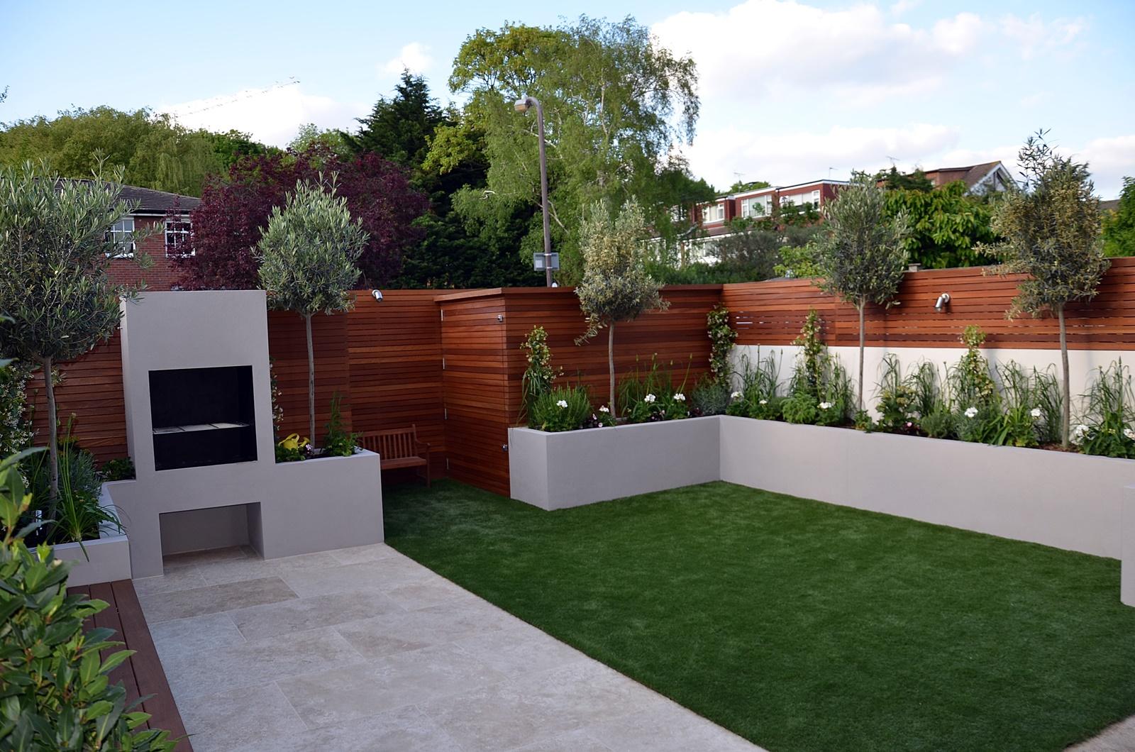 Modern garden design Fulham Chelsea Clapham Battersea ... on Contemporary Backyard  id=14150