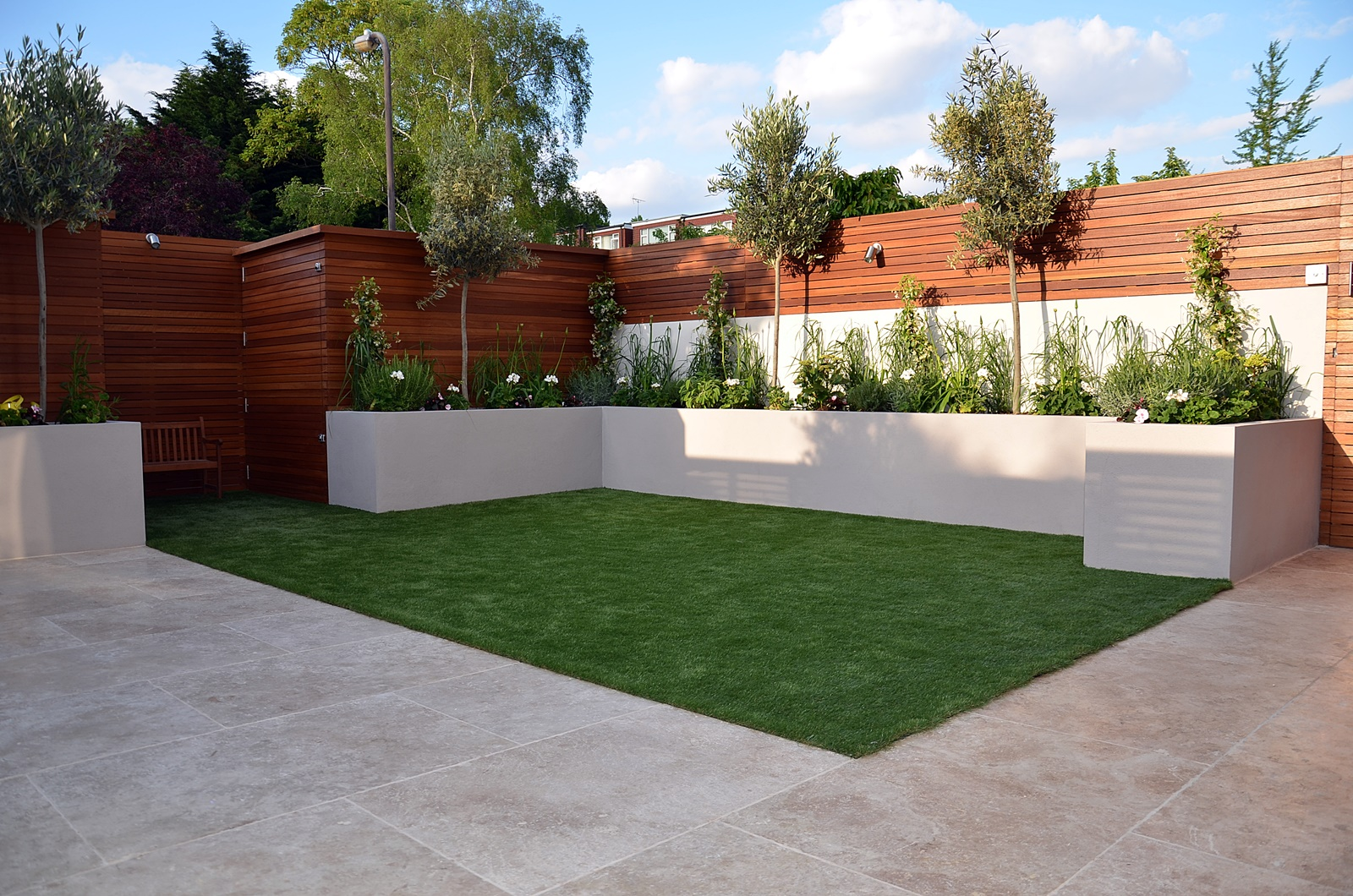 Modern garden design Fulham Chelsea Clapham Battersea ... on Modern Landscaping Ideas For Small Backyards  id=28431