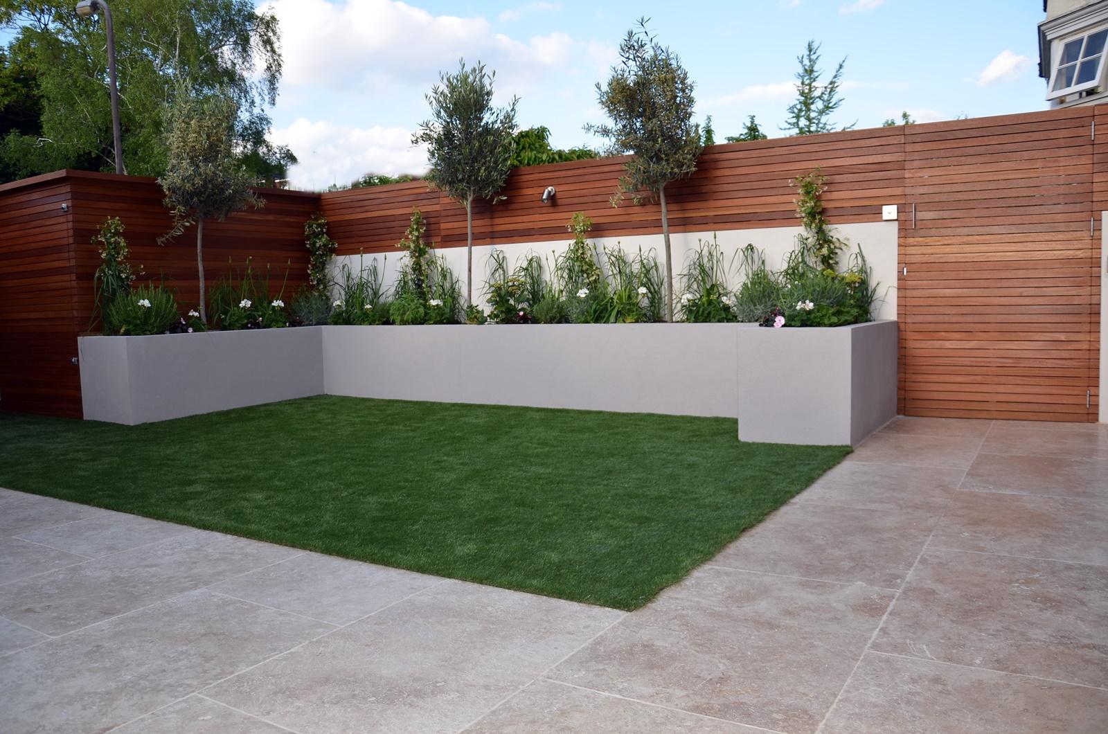 Modern garden design Fulham Chelsea Clapham Battersea ... on Modern Back Garden Ideas id=30060