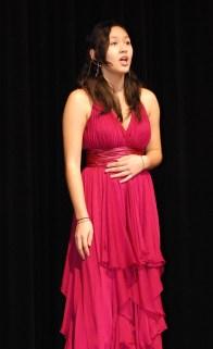 "Sonya May sang ""Funny Honey"" from Chicago. photo by Sami Murray"