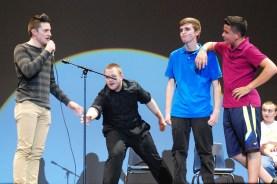 Improv: Chris Catania, Jake Mesheau, Brian Leonard, Derek Crowe.