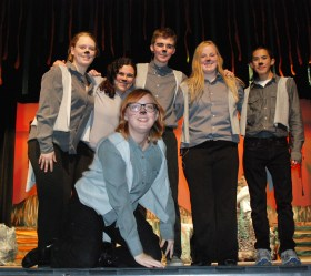 Sarah Kane, Chrissy Dale, Brian Leonard, Kayla Frazer, Sean Vo, and Jace Williams are all part of the wolf pack.