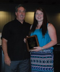 Ally Cerratto received the top female athlete award