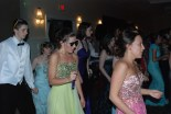 Ben McKenna, Danielle Hill, Rachael Spinney, Natalie Ellard and Kelsey Joyce on the dance floor
