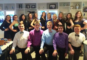 RHS SGC members before heading to the MASC banquet