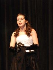 """Sophie McClellan sings """"Think of Me"""" from the Phantom of the Opera."""