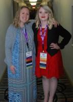 RHS SGC Head Council Advisor, Kristen Walsh and Council President, Haley Macray