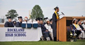 Valedictorian Ryan Sugrue