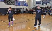 Kaylee Patten and Mike McPeck did a great job directing the many activities at the rally. Veritas photo