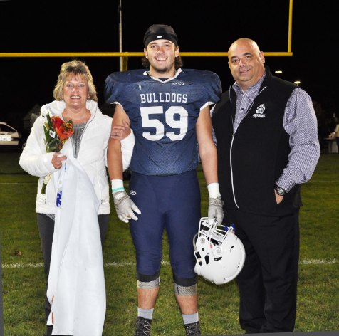 Tim Kane with his parents Joanne and Steve