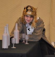 Shandi Austin plays Macbeth