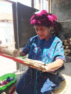 One of the women in the village. photo courtesy of Melissa Shaughnessy