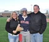 Brian McCullough and his parents, Linda and Joe.