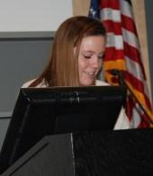 Student Services Chair, Jillian Donahue