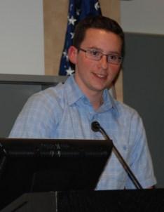 Sophomore class president, John Ellard