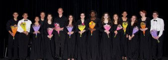 seniors in the band and chorus