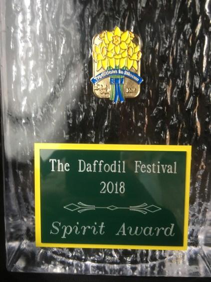 Sumner's Community Float won the 2018 Spirit Award.