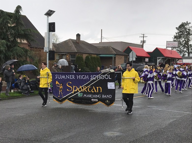 Another Tradition: the Sumner High School Marching Band.