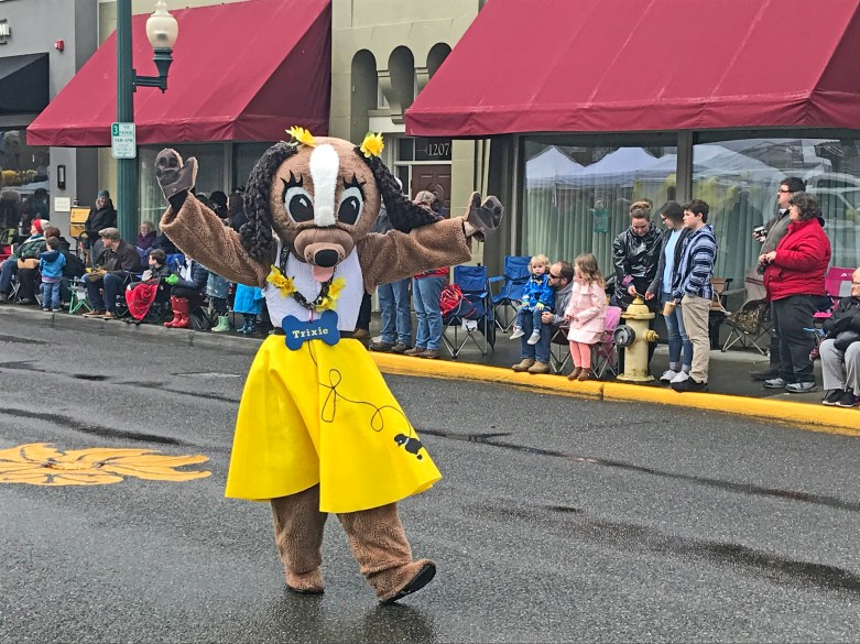 Trixie with Metro Animal Services celebrates its mission to Shelter, Protect and Unite pets in Sumner, Puyallup and other cities.