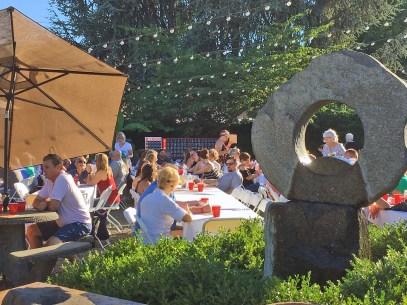 VanLierop's Garden Market was full Saturday evening for Beer, Brats & Bingo.