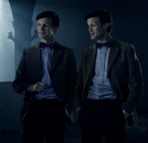 The Doctor and his ganger.