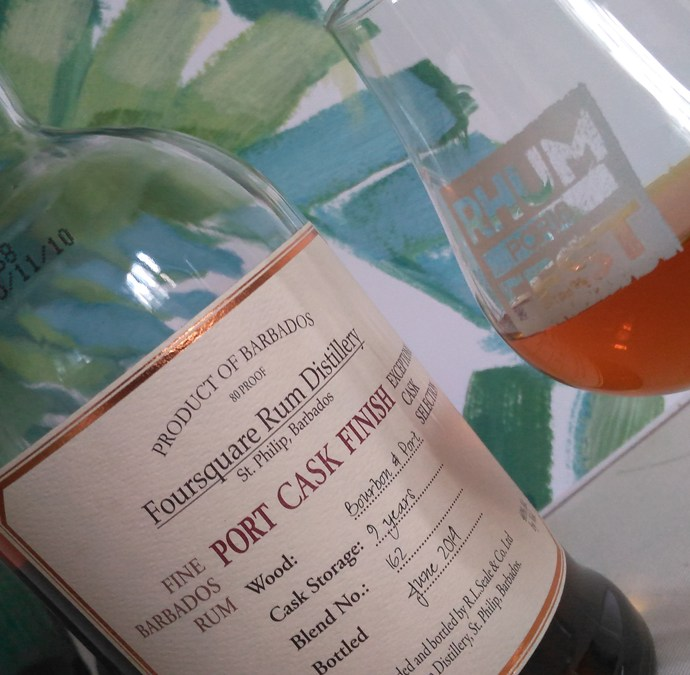 Foursquare Port Cask Finish 9 ans [35/365]