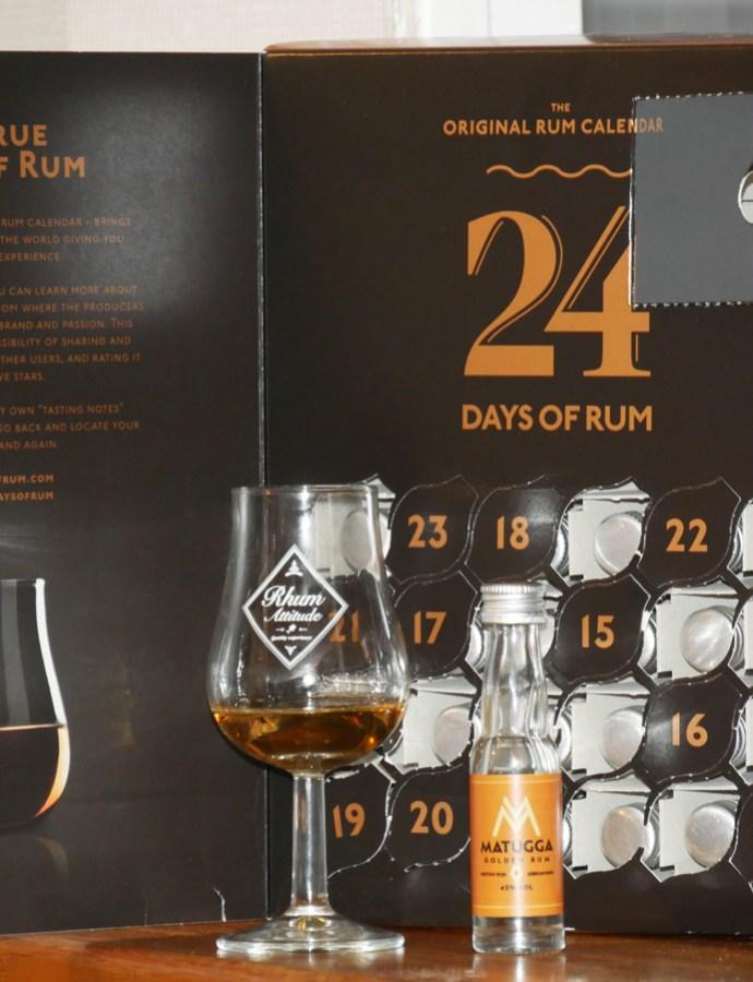Matugga Golden Rum – Rhum Ambré [140/365]