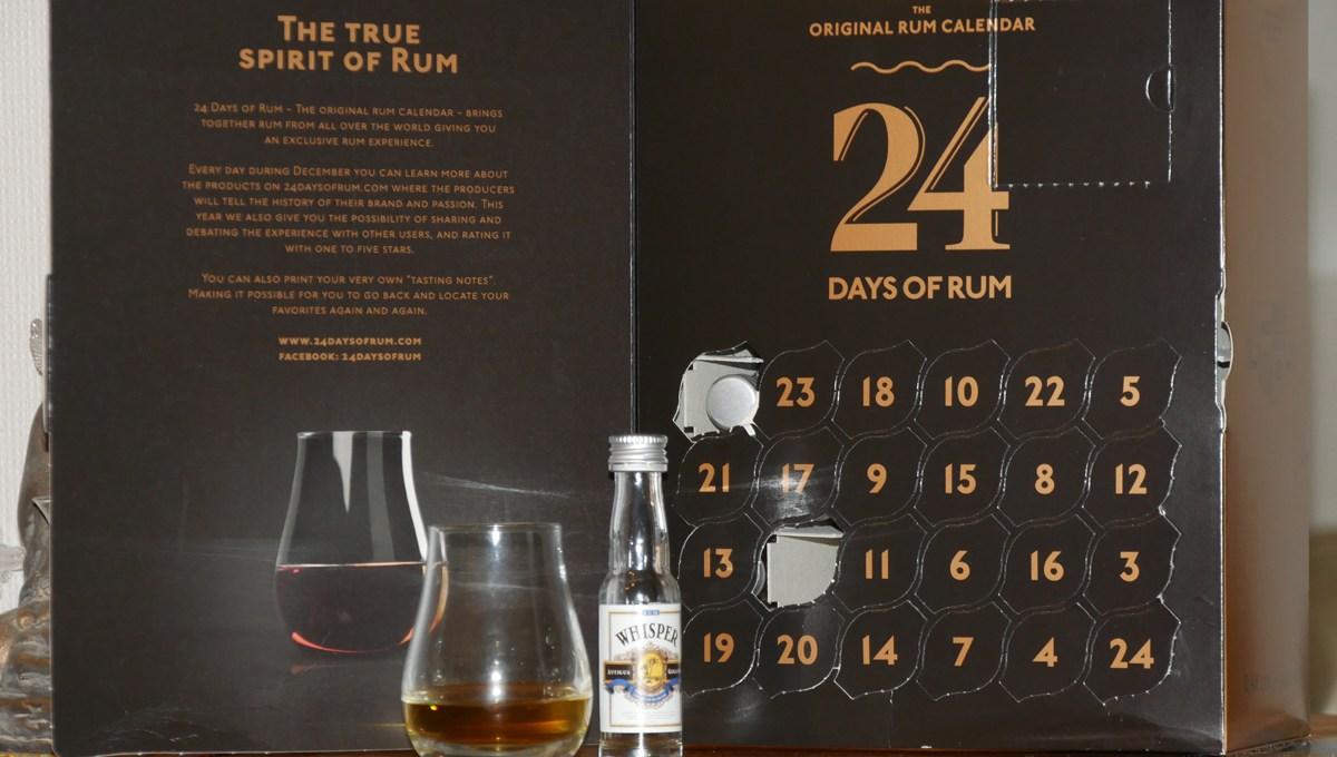 Whisper Antigua Gold Rum – Rhum ambré [128/365]