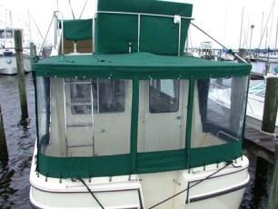 Cockpit enclosure - stern view