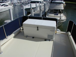 Combination fridge/bar/freezer on flybridge