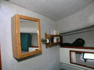 Extra vanity storage